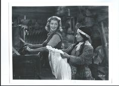 Jeanette MacDonald and Ynez Seabury in The Girl of the Golden West - Escano Collection