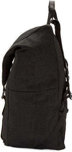 9e76c5fd9d8a Julius - Black Nylon Backpack Black Nylons