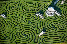 5.) Hedge maze, Longleat (England)
