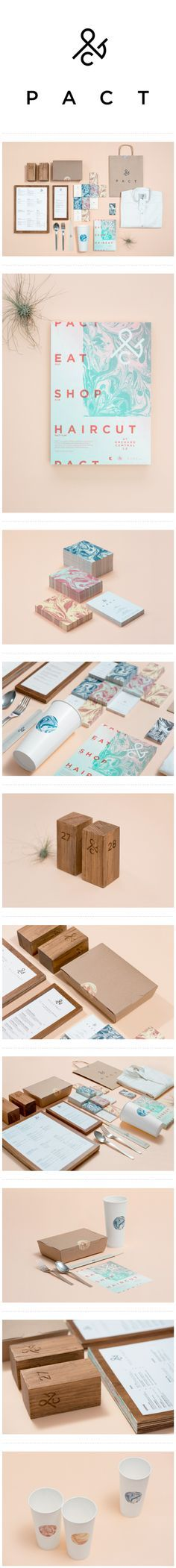 Pact #identity #packaging #branding #marketing curated by Packaging Diva PD