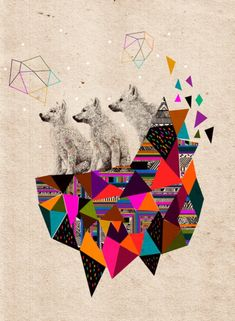 Artwork We Love: Kris Tate's Psychedelic Prints | Free People Blog #freepeople