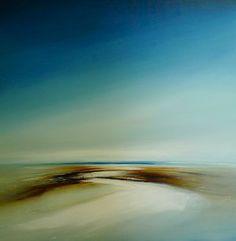 """Pathway,"" original landscape painting by artist  Tessa Houghton (UK) available at Saatchi Art #SaatchiArt."