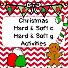 Christmas Hard & Soft C and G Activities First Grade Teachers, Elementary Teacher, Elementary Education, Social Studies Resources, Classroom Resources, Teaching Resources, Classroom Ideas, Grade 1 Reading, Guided Reading