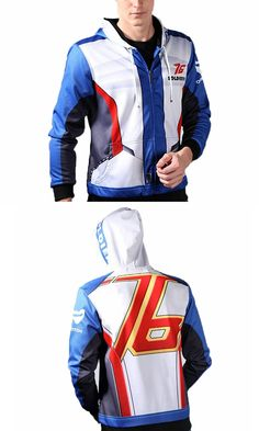 OVERWATCH SOLDIER 76 Are you a Overwatch OW Fans? Follow your heart with this cool reversed hood coat.Don't let this baby slip away before your eyes. Shop it at G-LIKECLOTHES.COM!