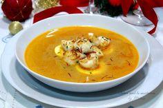 Cocina con Mina: Sopa de rape {Reto Marquesa de Paraberes} Thai Red Curry, Food Photography, Food And Drink, Ethnic Recipes, Ferrero Rocher, Diabetes, Chocolate, Blog, Christmas