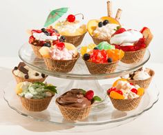 Can't make a decision on how to fill your enjoy-a-bowl?  Make dessert fillings for your bowls!