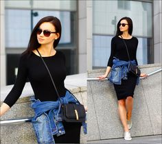Anna Mour ♥. - Dress-up or dress-down?