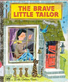 The Brave Little Tailor, Illustrations by J.P. Miller, 1953 (1976 Edition)- Cover