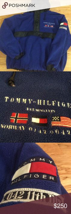 Vintage Tommy Hilfiger Alpine Expedition Jacket Vintage 90's Tommy Hilfiger Alpine Expedition Fleece Jacket  -Very rare and hard to find jacket  -Size Medium -good condition for its age, some marks on the fleece -Tommy hilfiger alpine embroidery on the chest and sleeve -Insanely hard jacket to find  -Own a grail today -No offers at this time. Tommy Hilfiger Jackets & Coats Windbreakers