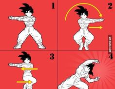 Steps for a successful fusion Dragon Ball
