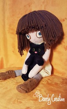 Fran Bow and Mr Midnight by BarelyCreative.deviantart.com on @DeviantArt