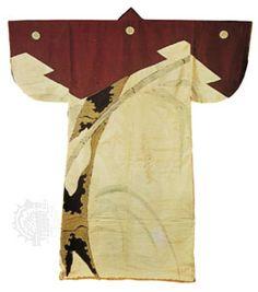 Kosode (short-sleeved robe), silk decorated with a design of bamboo, 1573–1614; in the Daihiko Senshu Bijutsu Kenkyūjo, Tokyo.