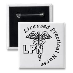 CADUCEUS LPN LOGO LICENSED PRACTICAL NURSE PIN from http://www.zazzle.com/specialty+buttons