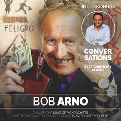 """Summary """"How do you become a pickpocket?"""" Bob Arno, a Swedish-born American Extraordinary People, Transcription, Arno, Guest Books, May 1, Full Episodes, The World's Greatest, Conversation, How To Become"""