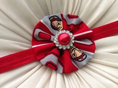Your Favorite Sports Team Headband or Hair Clip- The Ohio State University on Etsy, $9.99
