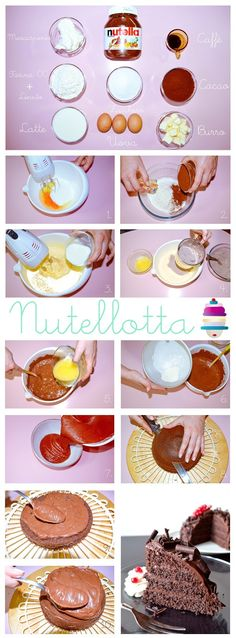 NUTELLOTTA Recipe Step By