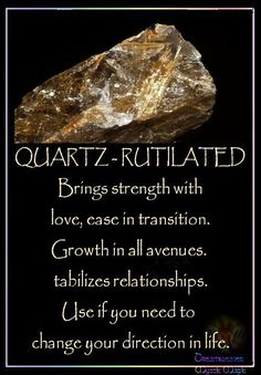 ♥♥ RUTILATED QUARTZ ♥♥