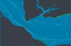 Pretty proud of this lovely map. stamen design | Grasses, Watermen & Bathymetry