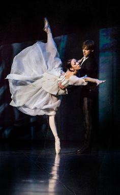Victoria Tereshkina and Vladimir Shklyarov in Anna Karenina. Photo by Sasha Gouliaev