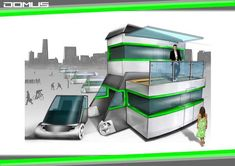 The Domus Home is a modern mobile home concept that transforms from a car to a full-scale camper home for up to six people. Car Camper, Camper Caravan, Campers, Luxury Mobile Homes, Hybrid Camper, Campervan Rental, Tiny House Blog, Luxury Rv, First Car