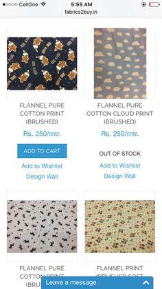 Cotton fabric online