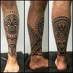 Картинки по запросу тату на ноге мужские маори