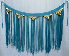 Crocheted Long Tassel Hip Scarf [
