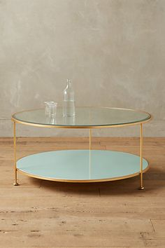 Lacquered Coffee Table #anthropologie