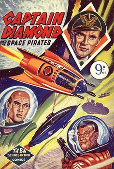 Captain Diamond And The Space Pirates...Tit-Bits Science Fiction Comics (British)