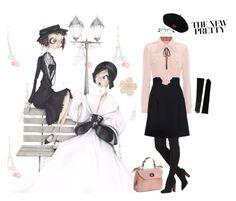 """""""The new pretty"""" by grazia-morello on Polyvore featuring moda, Chanel, Miu Miu, Ray-Ban, Lanvin e Lauren Ralph Lauren"""