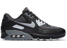 Air Jordan Sneakers, Sneakers Nike, Air Max 90 Black, Popular Sneakers, Stylish Mens Fashion, Grey Shoes, Nike Sportswear, Me Too Shoes, Nike Air Max
