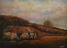 Farmers Shed: Irish Art, Original Framed Landscape Painting by Stephen Shaw Irish Art, Farmers, Landscape Paintings, I Shop, Ebay, Farmer, Landscape Drawings