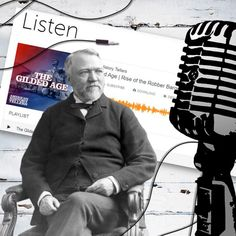 """I love to incorporate podcasts into my U.S. History classes. I don't always have time to share an entire episode so sometimes I share short """"snippets"""" of episodes. This one is from the podcast American History Tellers: Rise of the Robber Barons, Episode 2. I shared this with my students last week in my Industrial Age unit. I used it as a bell ringer activity! Bell Ringers, History Class, Social Studies, American History, I Am Awesome, Students, Industrial, I Don't Always, The Unit"""