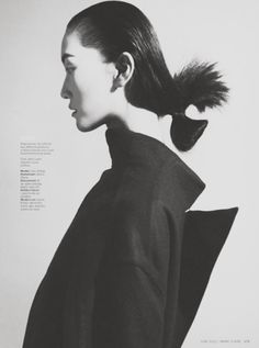 lina zhang by marcus ohlsson for marie claire june 2012.