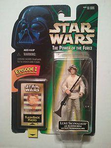 """Star Wars Luke Skywalker Episode I Flash Back Photo POTF 3 3/4"""" Action Figure 98"""