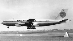 O 707 foi o primeiro jato de grande autonomia da aviação comercial (Divulgação)