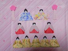 Origami Hina Doll 折り紙の雛人形 お内裏様の顔 折り方作り方 - YouTube