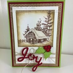 Nikki's Creative Nook: Christmas, holidays, fsj, Fun Stampers Journey, joy