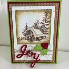 Nikki's Creative Nook: Christmas, holidays, fsj, Fun Stampers Journey, joy