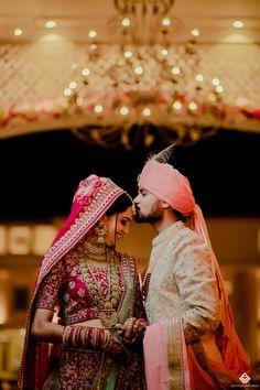 Wedding Picture Poses, Wedding Poses, Wedding Couples, Couple Wedding Dress, Wedding Outfits, Indian Groom Wear, Bridal Lehenga Collection, Creative Instagram Photo Ideas, Couple Photography