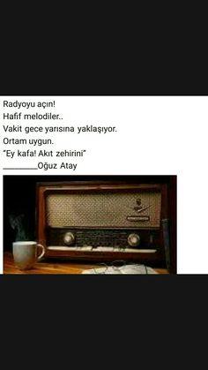 Radyoyu açın Oğuz Atay