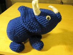 how cute! Triceratops.