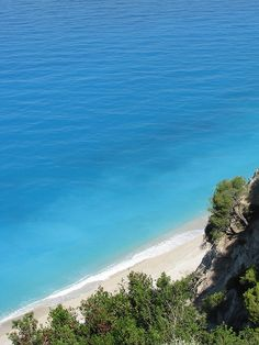 Egremnoi beach, Lefkada, Greece