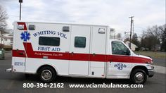 Remounted Ambulance delivery by VCI to Whiting FAS RV289