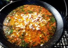 Ciorba de peste la ceaun. Ceauneala cu ciorba de peste. Cod, Seafood, Curry, Ethnic Recipes, Sea Food, Curries, Cod Fish, Atlantic Cod, Pacific Cod