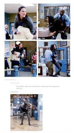 Funny Pictures Of Rossa Vs. Amy From Brooklyn Nine Nine Movies Showing, Movies And Tv Shows, Brooklyn 9 9, Brooklyn Nine Nine Rosa, Detective, Jake Peralta, Andy Samberg, Parks N Rec, Bae
