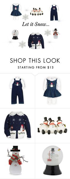 """""""Let it Snow"""" by woodensoldier on Polyvore featuring Harrods and R.J. Graziano"""