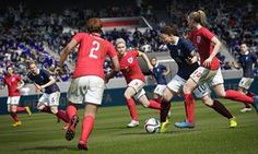 """UK : """"Within my household and social circle it's always been significantly disappointing that female gamers couldn't play Fifa with footballers of their own sex."""" But now they can!"""