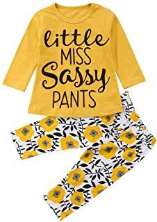 Newborn Toddler Kids Baby Girls Sassy Tops Vest Short Pants 2PCS Outfits Clothes