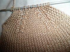 CALCETINES DE PERLÉ PASO A PASO Nos apetecía recordar como se tejen los calcetines y de paso os hemos preparado este TUTORIAL a dos a... Baby Hat Knitting Pattern, Knitting Socks, Baby Knitting, Knitted Hats, Knitting Patterns, Crochet Slipper Boots, Knit Shoes, Crochet Slippers, Diy Baby Socks